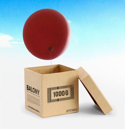 HY-1000 weather balloon